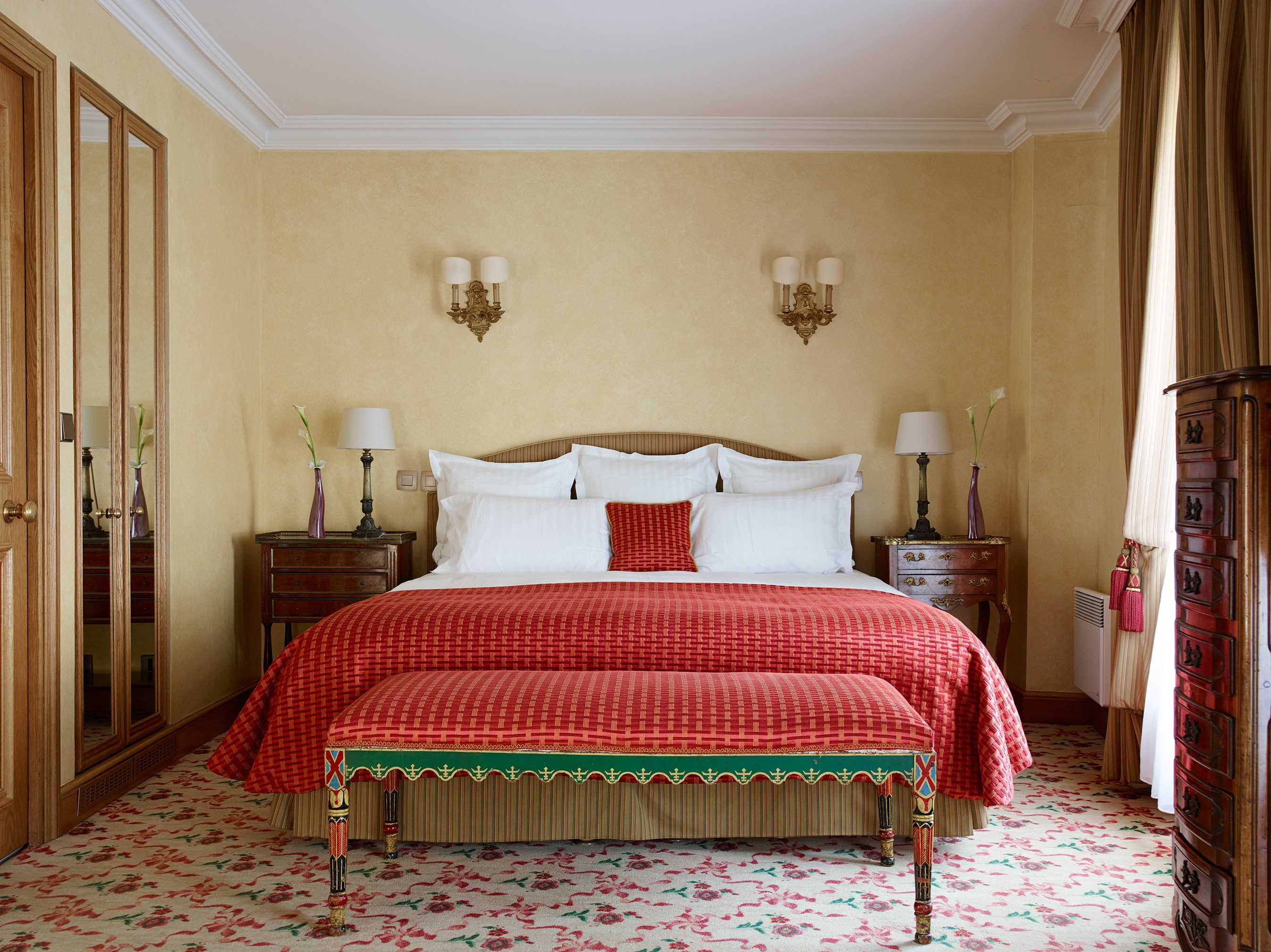 Bedroom Suites Hotel de Vigny Paris