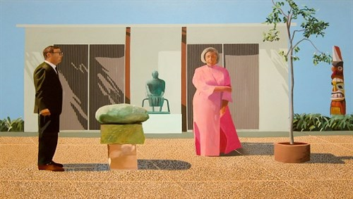 Flickr David Hockney American Collectors copyright Sharon Mollerus
