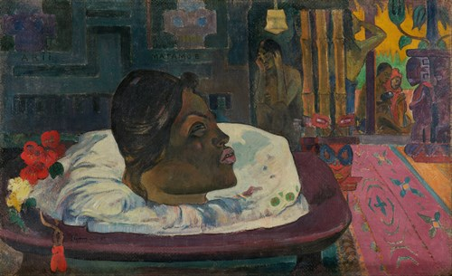 Paul Gauguin French Arii Matamoe The Royal End Google Art Project